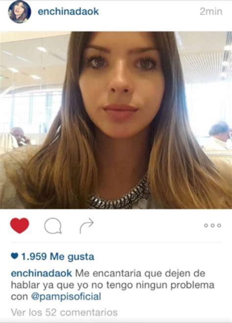 El extraño mensaje de China Suárez a Pampita en Instagram ...