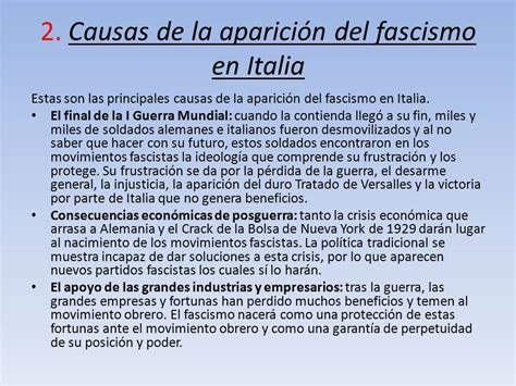 El fascismo italiano Autor: Alazne Verdeal. - ppt video ...