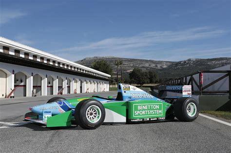 El Fórmula 1 con el que Schumacher ganó su primer Mundial ...
