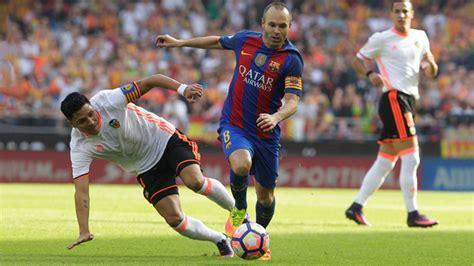 El futbolista Andrés Iniesta sufre lesión en rodilla ...