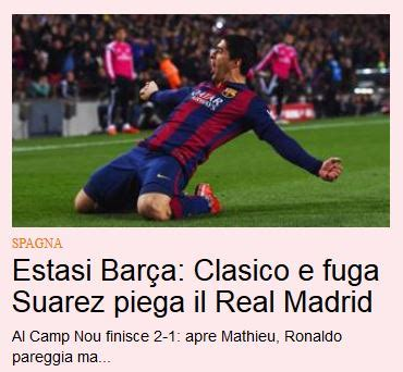 El golpe de efecto a la Liga, en las portadas - Noticias ...