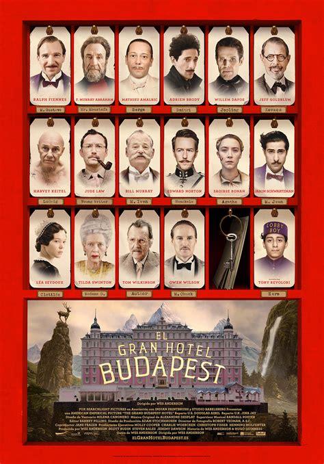 El gran Hotel Budapest - Película 2013 - SensaCine.com