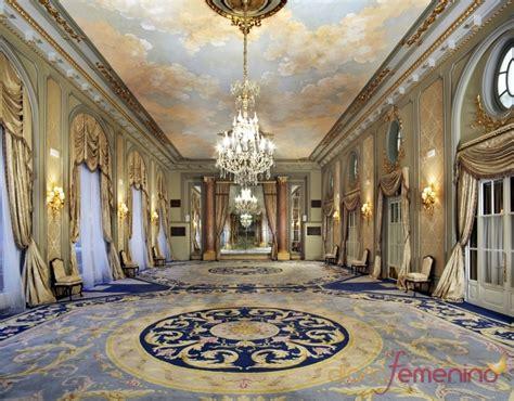 El gran salón del hotel Palace de Barcelona