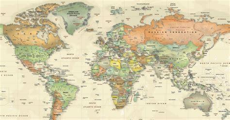 El grave error que tiene el mapamundi que te enseñaron en ...