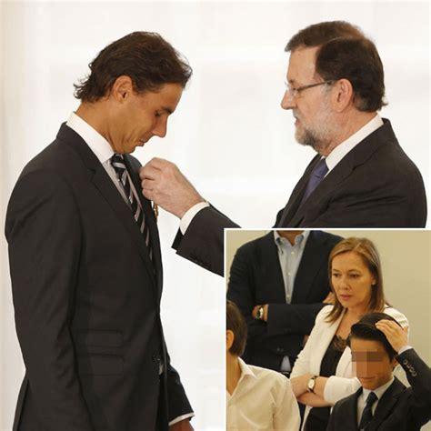El hijo de Mariano Rajoy admira a Rafa Nadal