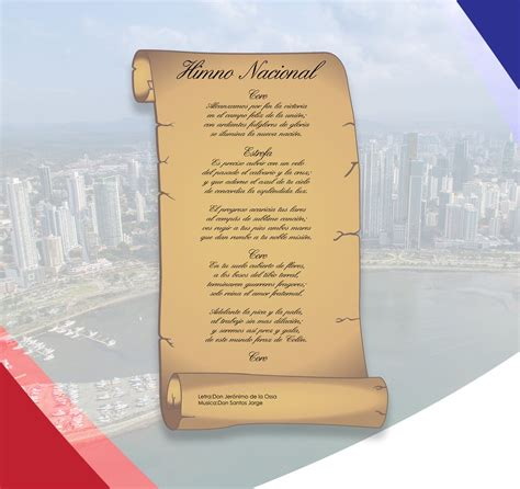 El himno nacional de panamá es la más gloriosa melodía que ...