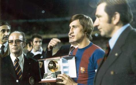 El historial del FC Barcelona en el Balón de Oro