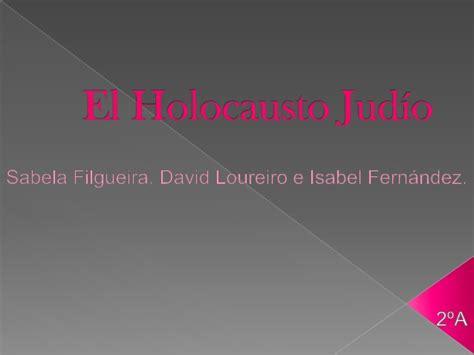 El holocausto judío