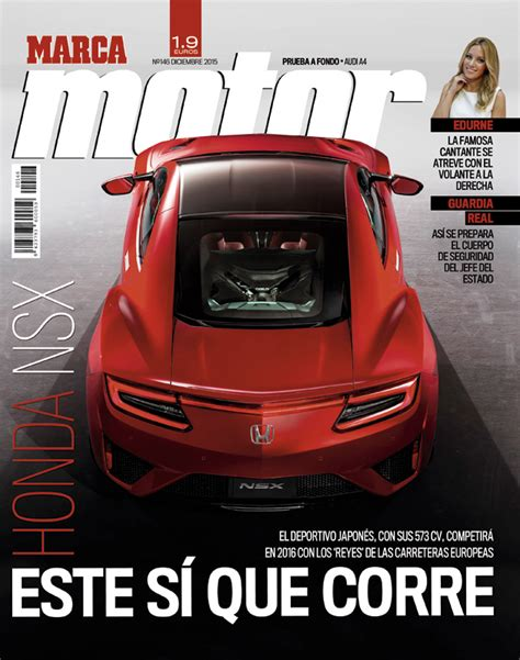 El Honda NSX, protagonista del número 146 de Marca Motor ...