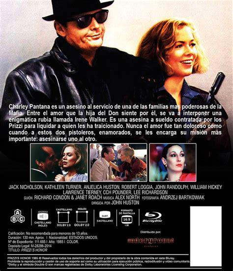 El Honor de los Prizzi de John Huston en Blu ray