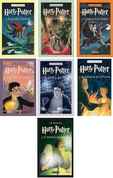 EL IMPERIO DE LAS BELLOTAS: Reseña libro: Saga Harry Potter