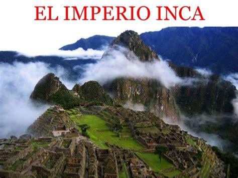 El imperio inca de la América precolombina