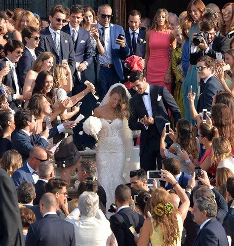 El jugador del Real Madrid Álvaro Morata se casa con Alice ...