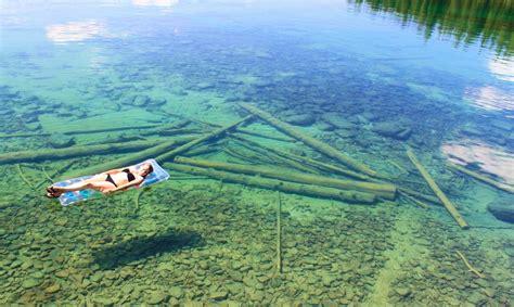 El lago más transparente del mundo   Supercurioso