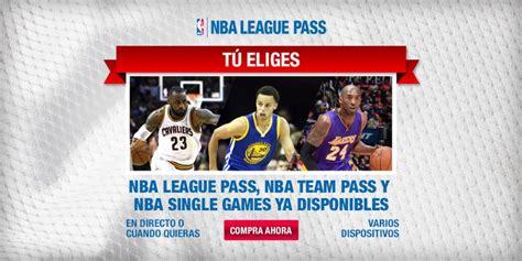 El League Pass de la NBA: vive toda la acción en directo ...