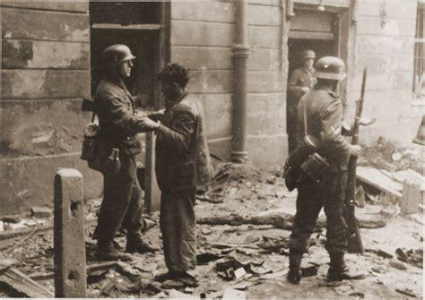 El levantamiento del Gueto de Varsovia