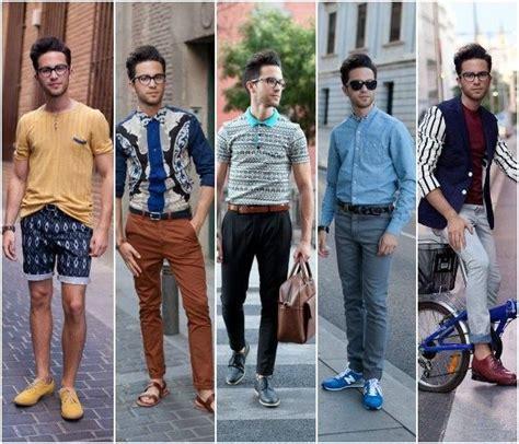 El look y estilo Hipster hombre con ropa vintage o de ...