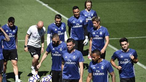 El Madrid puede jugar con 24