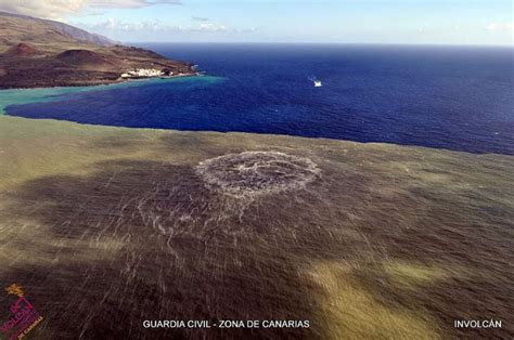 El magma del volcán de El Hierro recorrió más de 20 km ...
