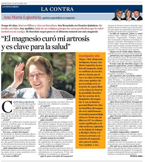 El Magnesio es la Clave para la Salud, Ana María ...