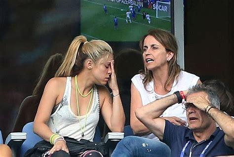El mal rato que se llevó Shakira con Piqué   Madrid Barcelona