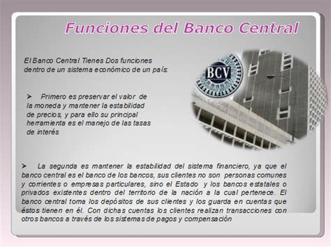 El marco institucional del BCV - Monografias.com
