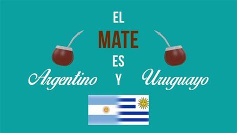 ¿El mate es argentino o uruguayo? - YouTube