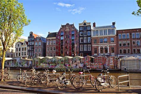 El mercado de las flores de Amsterdam es un lugar ...