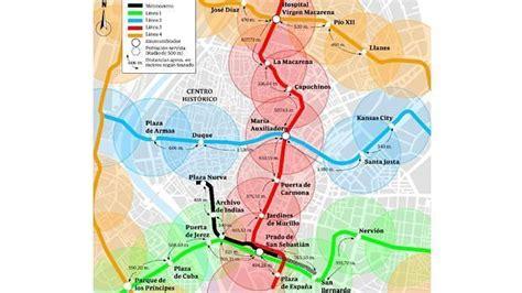 El Metro crea vacíos en el Centro   abcdesevilla.es