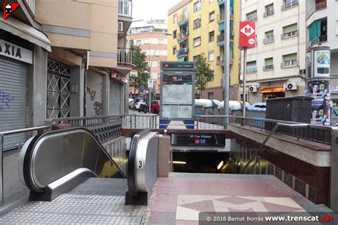 el metro de Barcelona - línia L5 - Can Vidalet