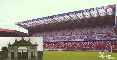 El Molinón es el estadio de fútbol más antiguo de España