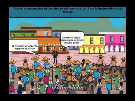 Él movimiento de la Independencia de Mexico - YouTube