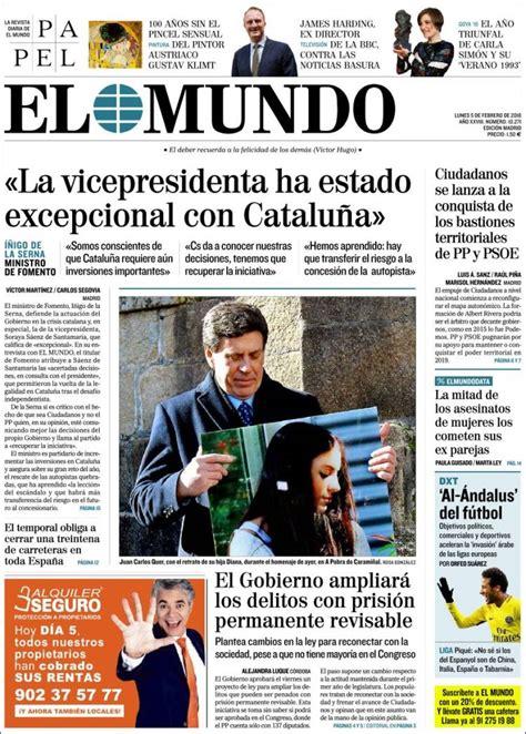 El Mundo (05/02/2018) - La Prensa Diaria