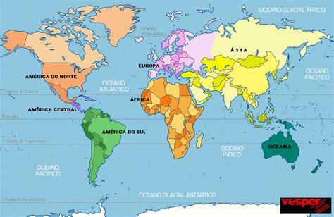 EL MUNDO ACTUAL: mapa mundi