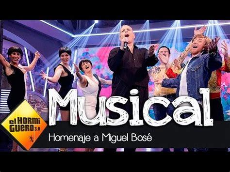 El musical de Miguel Bosé en El Hormiguero 3.0   YouTube