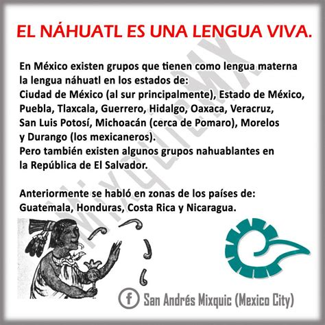 EL #náhuatl vive. #DiloEnNáhuatl... - San Andrés Mixquic ...