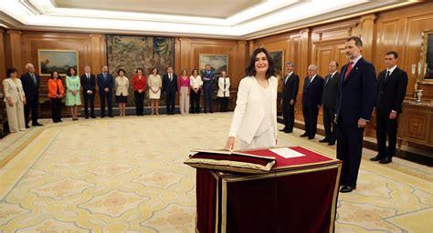 El nuevo Gobierno de España toma posesión