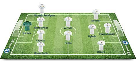 El once ideal con los jugadores relacionados con el Real ...