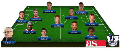 El once ideal de la primera vuelta de la Premier League ...