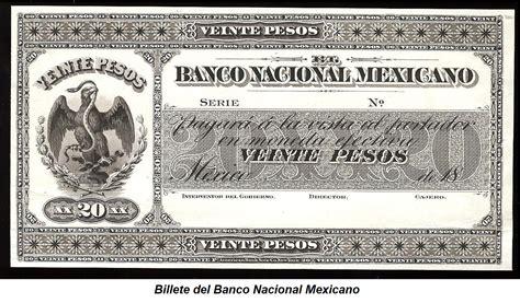 El origen del Banco Nacional de México. | EL DATO