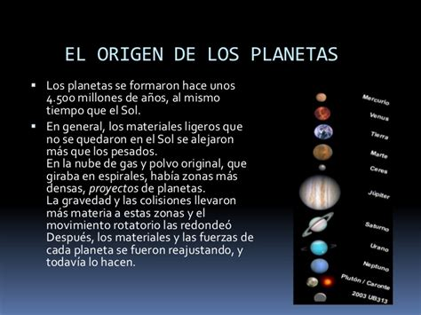 El origen del sistema solar grupo 3. 1ºb bachillerato