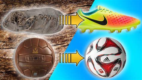 El Origen Y Evolución De Los Botines y Balones de Futbol ...
