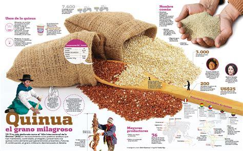 El oro de los incas: La quinua   La Villa Bebé