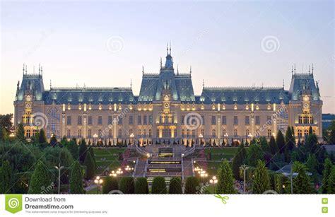 El Palacio De La Cultura, Iasi, Rumania Foto de archivo ...