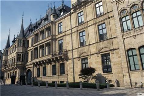 El palacio de los grandes Duques de Luxemburgo Luxemburgo