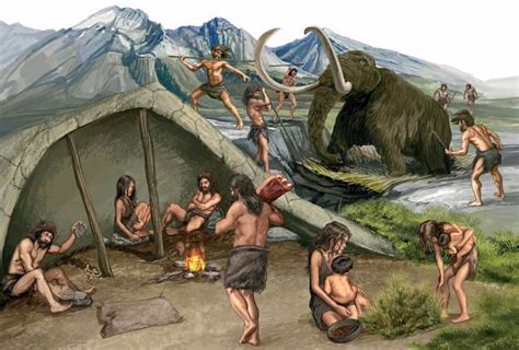 El Paleolítico   Web Historiae
