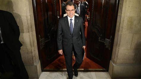 El Parlament de Catalunya responde a Artur Mas, en directo