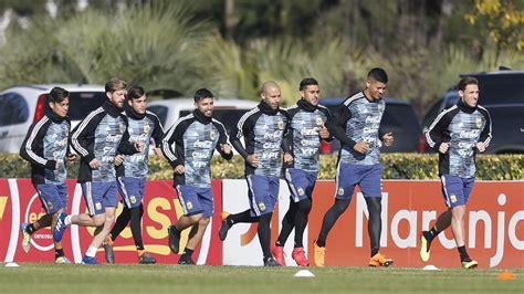 El pedido del plantel de la Selección argentina a Jorge ...