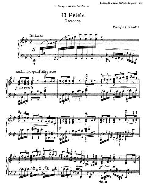 El pelele (Granados, Enrique) - IMSLP/Petrucci Music ...