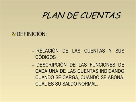 El Plan de Cuentas   Monografias.com